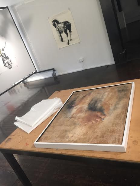 Framed at Point Gallery Denver and ready for its next exhibition!