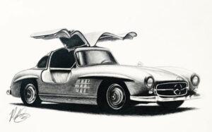 Classic Car 1 Gaul Wing